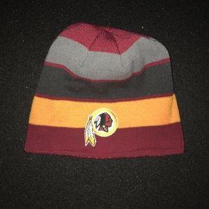 Redskins beanie - reversible!